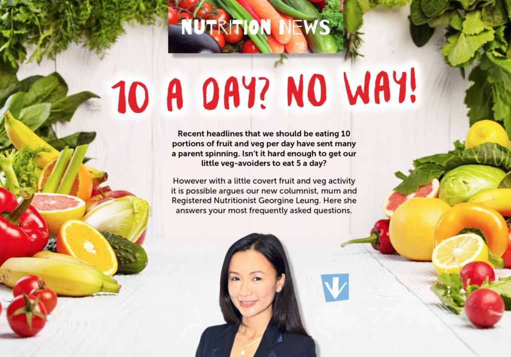 Fruit and vegetables – 10 a day?!