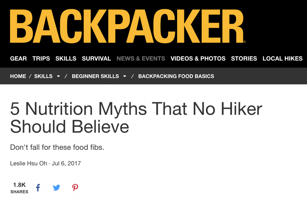 Debunking nutrition myths