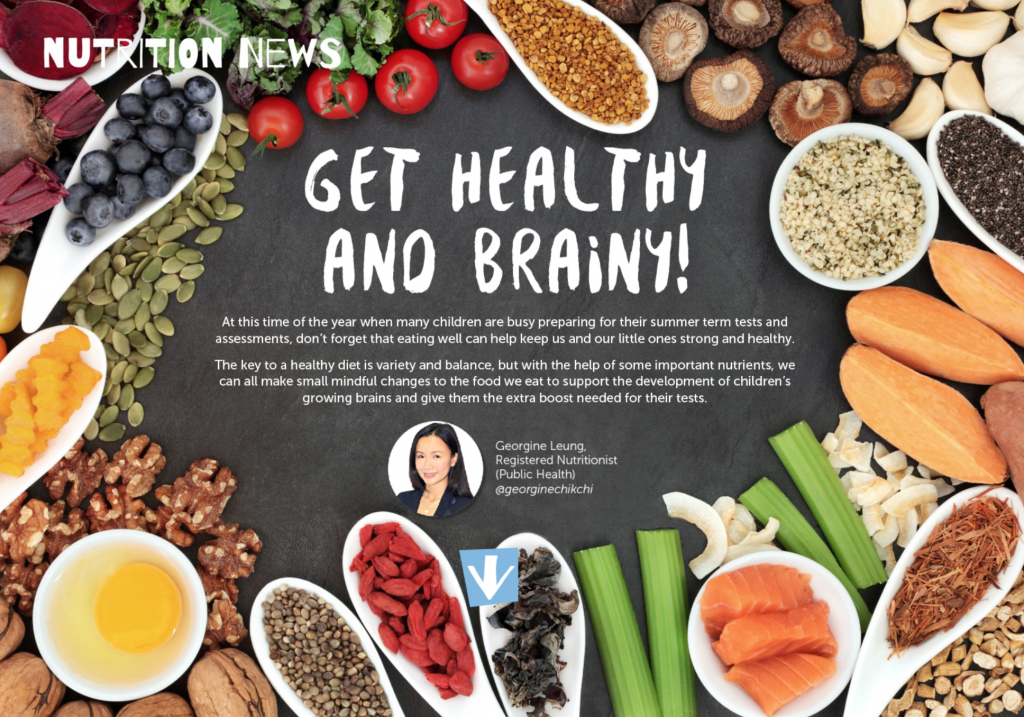 Get Healthy and Brainy