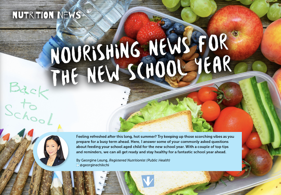 Nourishing for the new school term